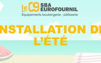 INSTALLATION DE L'ÉTÉ